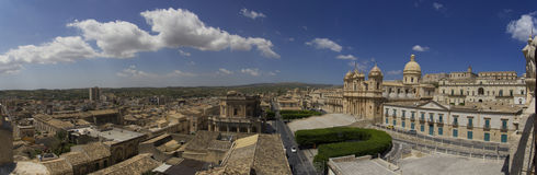 The city of Noto Royalty Free Stock Photography