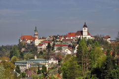 City Nove Mesto nad Metuji Stock Photography