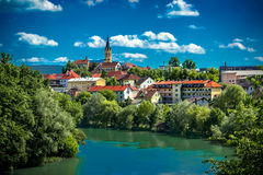 City Novo mesto Royalty Free Stock Photography