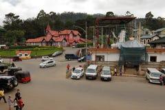 The city Nuwara Eliya in Sri Lanka. The city of  Nuwara Eliya in Sri Lanka Stock Photography