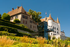 City of Nyon, Switzerland Stock Image