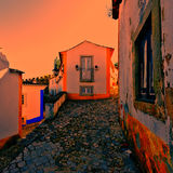 City of Obidos Stock Images