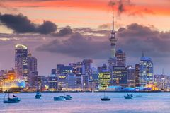 Free City Of Auckland. Stock Images - 108106564