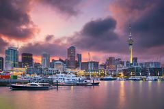 Free City Of Auckland. Royalty Free Stock Photos - 108172508