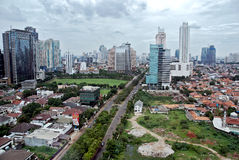 City Of Jakarta Royalty Free Stock Photos