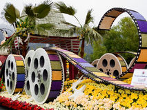 City Of Los Angeles 2011 Rose Bowl Parade Float Royalty Free Stock Image