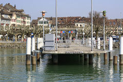 City Of Rapperswil In Switzerland Stock Photography