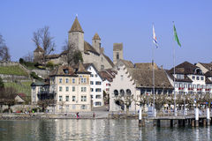 City Of Rapperswil In Switzerland Stock Photo