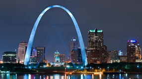City Of St. Louis Stock Image