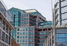 City office buildings Royalty Free Stock Photos