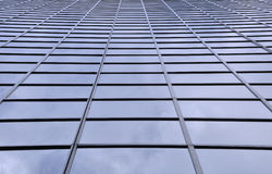 City office tower facade Stock Image