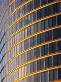 City Office Windows, London UK Royalty Free Stock Photo