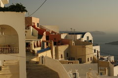 City of Oia, Santorini, Greece Royalty Free Stock Photo