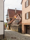 City or old town of Bad Wimpfen Germany. Bad Wimpfen old town sits on the hilltop above the River Neckar in Southern Germany Stock Photography