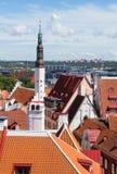 City old town in Tallinn Stock Photo