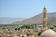 City in Oman Royalty Free Stock Photo