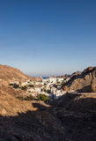 A city of Oman. Royalty Free Stock Photo