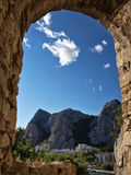 City of Omis (Croatia) Stock Photos