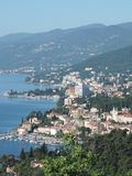 City of Opatija, near city of Rijeka, Croatia Stock Photo