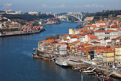 City of Oporto in Portugal Royalty Free Stock Photography