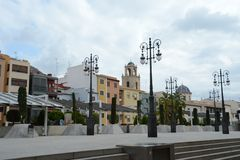 The city of Orihuela Royalty Free Stock Photo