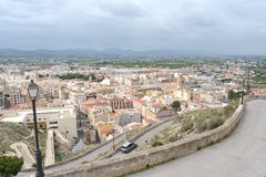 The city of Orihuela Royalty Free Stock Photography