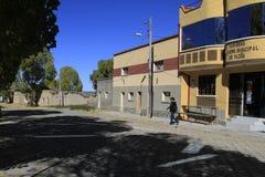 City of Oruro, Bolivia. Spring 2013 Stock Photo