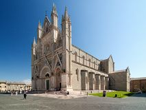 City Orvieto - medieval Cathedral Stock Images