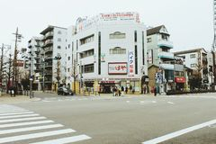 City of osaka stock photos