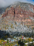 City of Ouray Royalty Free Stock Images
