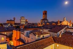 _ city over sunset στοκ φωτογραφίες
