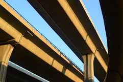 City overpass. From different angle Stock Photo