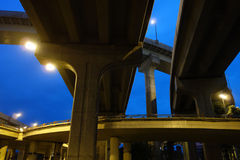 City overpass Royalty Free Stock Images