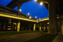 City overpass Royalty Free Stock Image