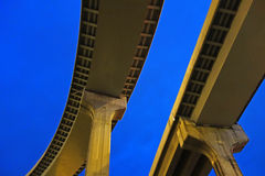 City overpass Royalty Free Stock Photos