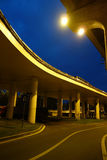 City overpass at night Stock Images