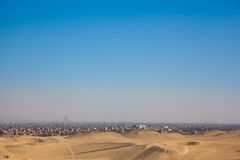 City overview of Giza Royalty Free Stock Images