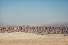 City overview of Giza. Egypt stock photos