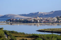 City of Pag Stock Image