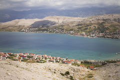 City of Pag Royalty Free Stock Photography