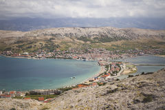City of Pag Stock Photo