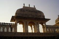 City Palace. Palace at udaipur-India Royalty Free Stock Photo