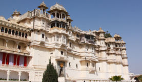 City Palace. During the day in Udaipur Stock Photos