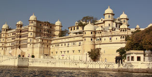 City Palace. During the day in Udaipur Royalty Free Stock Photo