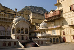 City palace, Alwar, Rajasthan, India. City palace in Alwar, Rajasthan Royalty Free Stock Images