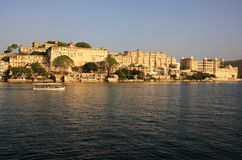 City Palace complex, Udaipur, India Royalty Free Stock Photos