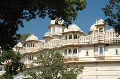 City palace,complex in Udaipur,Rajasthan,India Stock Photos