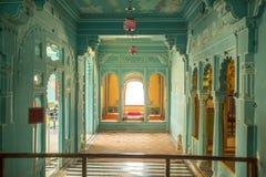 City Palace. Courtyard of city palace udaipur rajasthan india royalty free stock photography