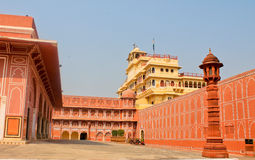 City Palace in India. The home of the Royal family Stock Images