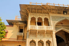 City Palace in India. The home of the Royal family Royalty Free Stock Photo